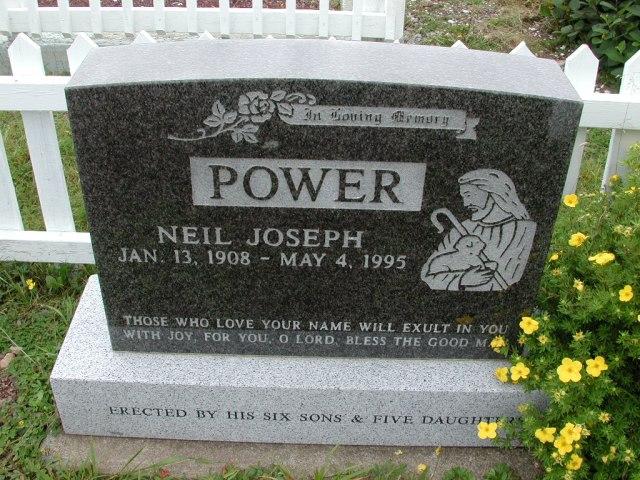 POWER, Neil Joseph (1995) BRA01-3149