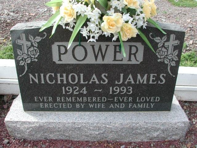 POWER, Nicholas James (1993) BRA01-3283