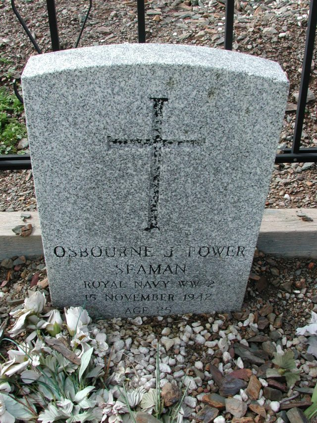 POWER, Osbourne J (1942) BRA01-3282