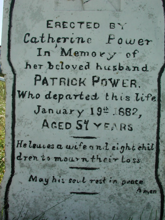 POWER, Patrick (1882) BRA02-7884