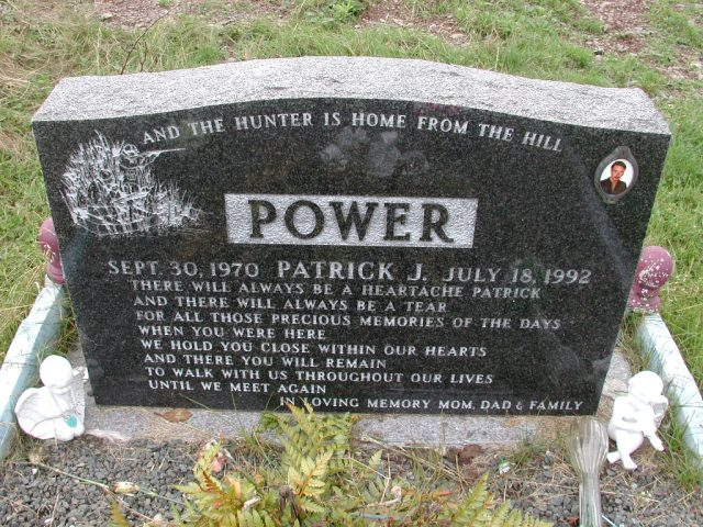 POWER, Patrick J (1992) BRA01-3186