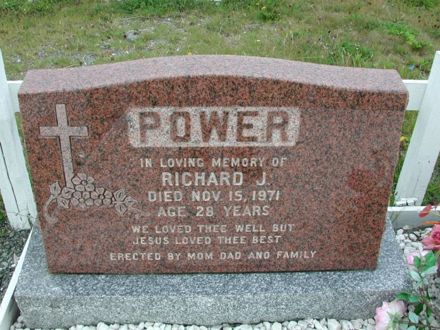 POWER, Richard J (1971) ODN02-7785