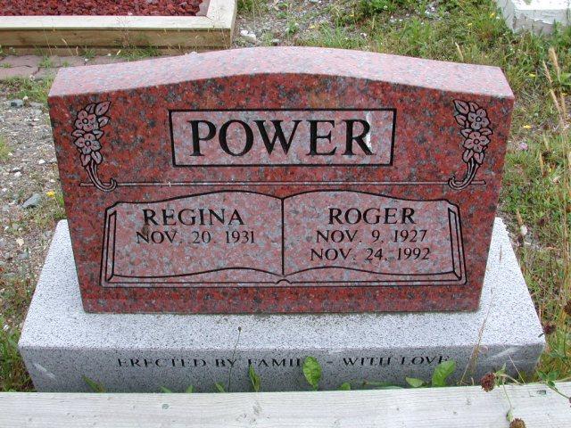 POWER, Roger (1992) & Regina ODN02-7802
