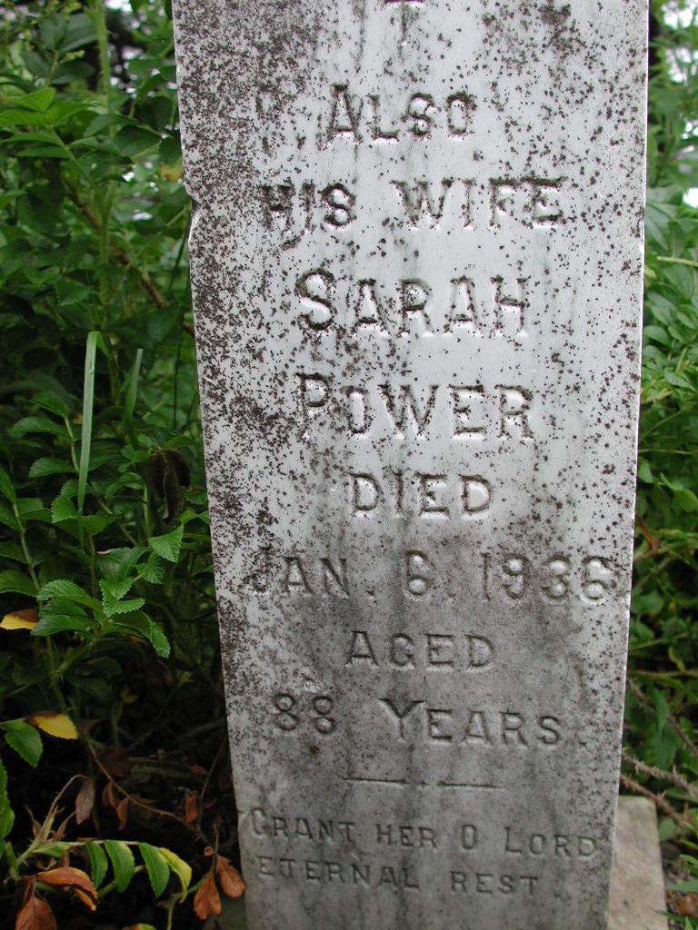 POWER, Sarah (1936) SJP01-1717