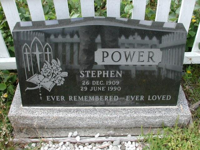 POWER, Stephen (1990) BRA01-3260