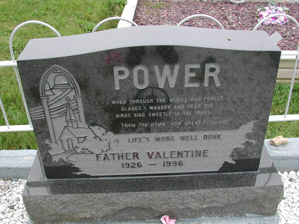 POWER, Valentine (1996) SJP01-7428