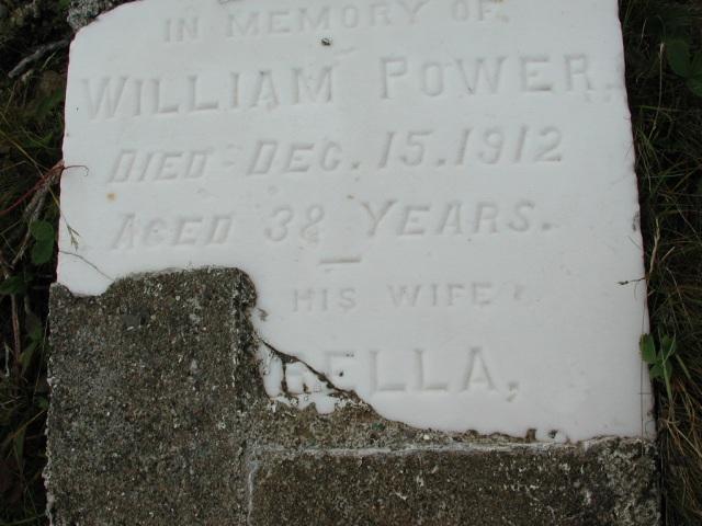 POWER, William (1912) & Isabella BRA01-7718
