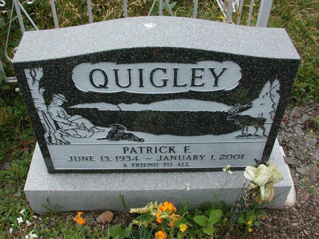QUIGLEY, Patrick F (2001) BRA01-3167