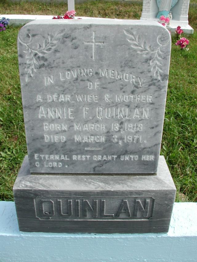 QUINLAN, Annie F (1971) STM01-8259