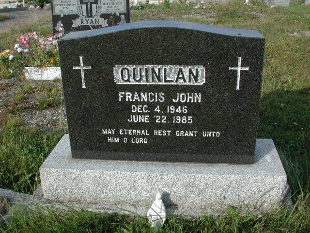 QUINLAN, Francis John (1985) STM03-3668