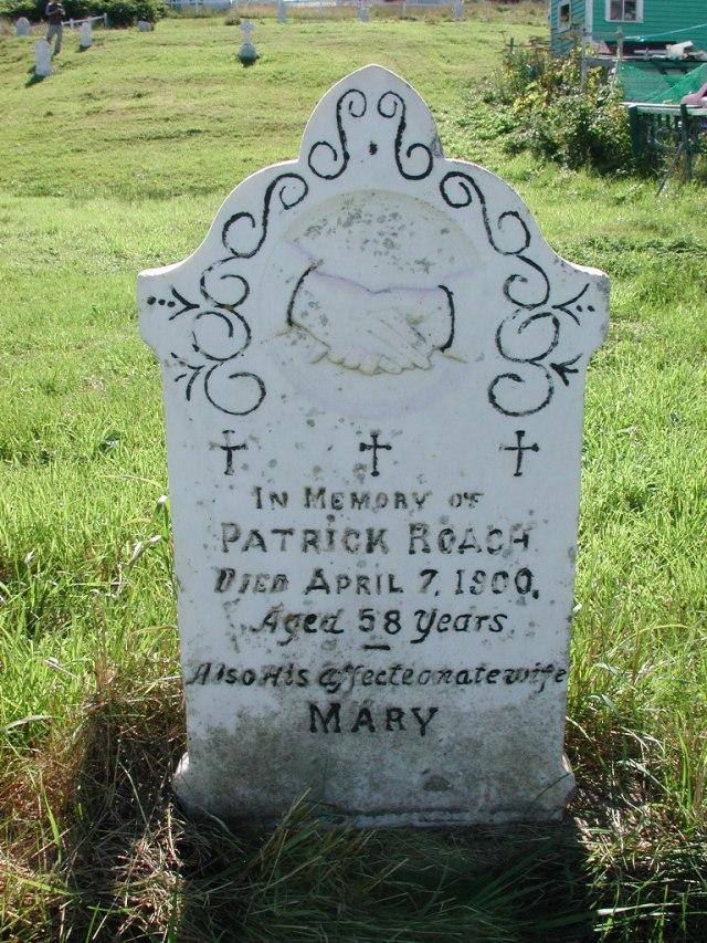 ROACH, Patrick (1900) & Mary BRA02-7895