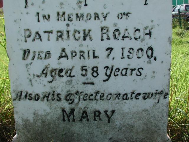 ROACH, Patrick (1900) & Mary BRA02-7896