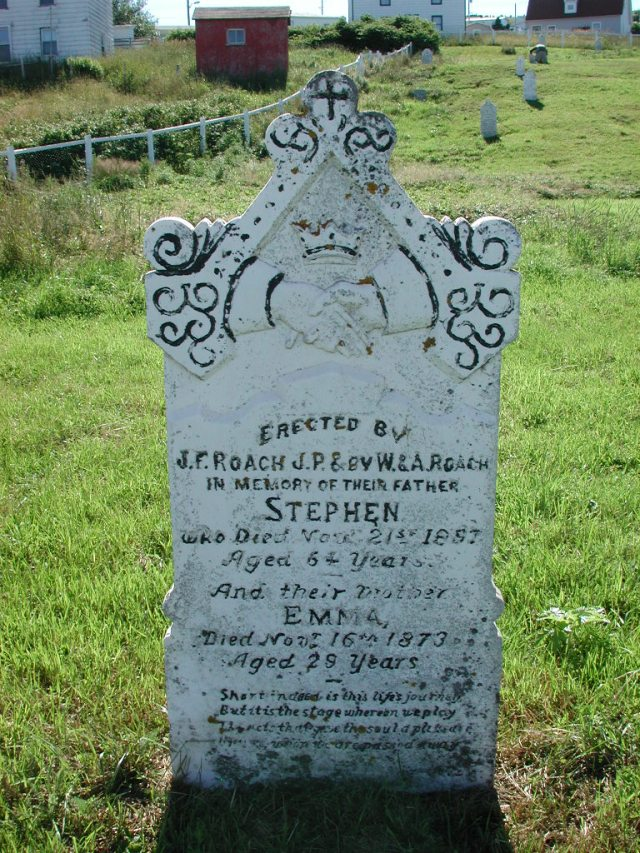 ROACH, Stephen (1897) & Emma (1873) BRA02-7891
