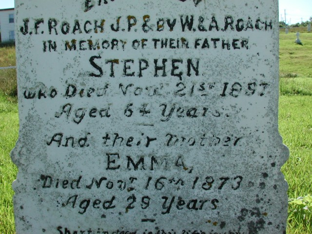 ROACH, Stephen (1897) & Emma (1873) BRA02-7892