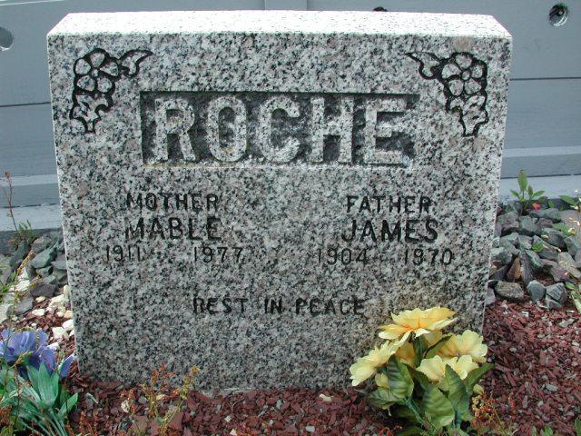 ROCHE, James (1970) & Mable (1977) BRA01-7808