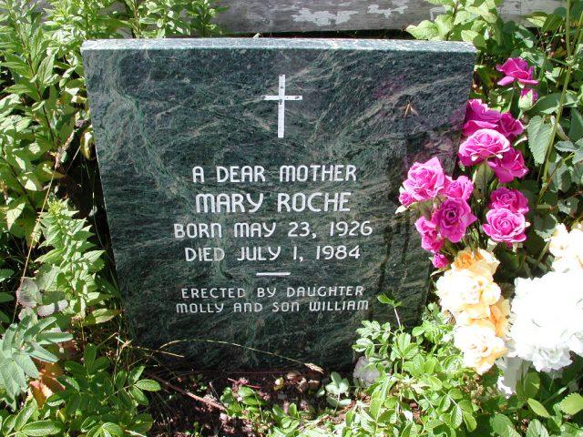 ROCHE, Mary (1984) PLN01-3108
