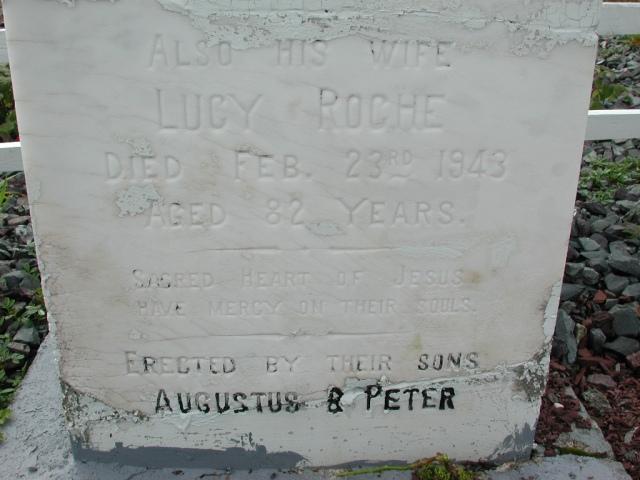 ROCHE, William (1932) & Lucy (1943) BRA01-7806