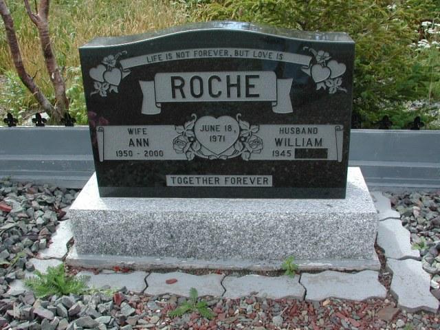 ROCHE, William (xxxx) & Ann (2000) BRA01-7809