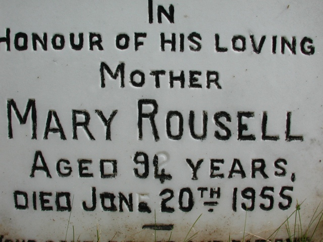 ROUSELL, Mary (1955) STM01-2424