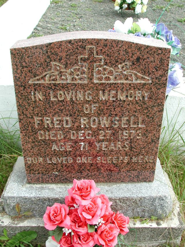 ROWSELL, Fred (1973) STM01-8303