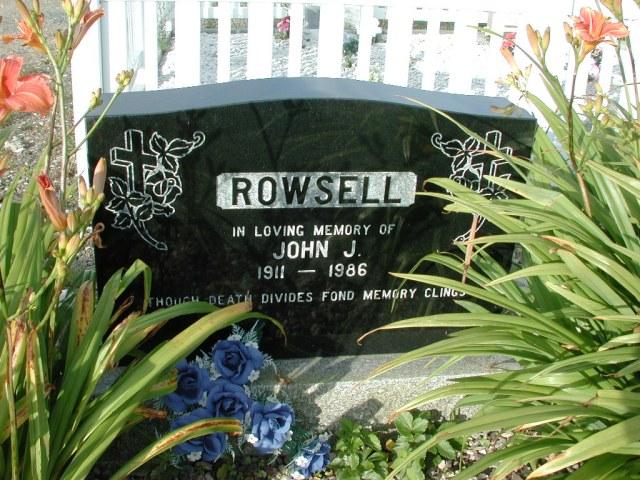 ROWSELL, John J (1986) STM03-3687