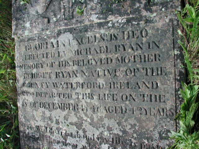 RYAN, Bridget (1846) STM02-2558