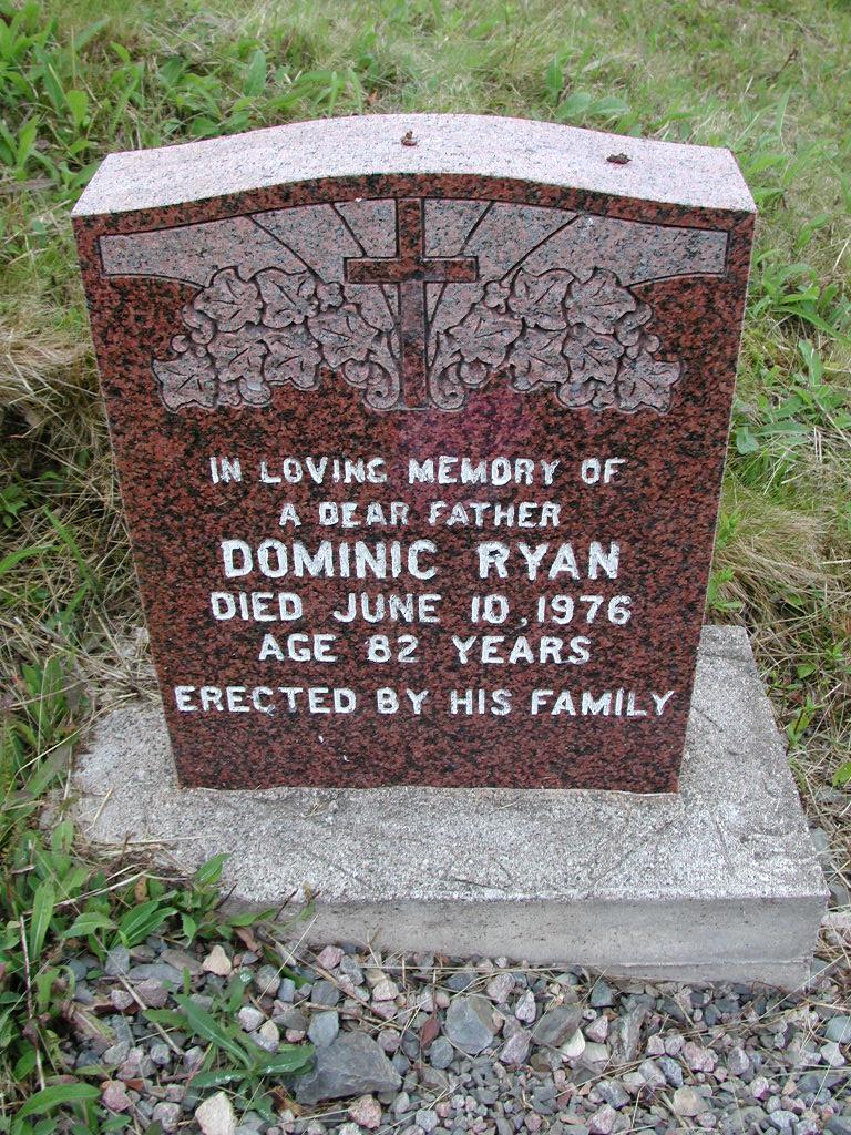 RYAN, Dominic (1976) SJP01-7449