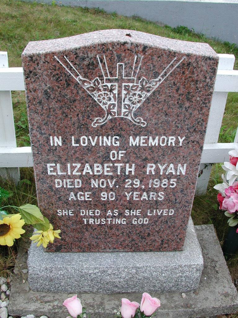RYAN, Elizabeth (1985) SJP01-7404