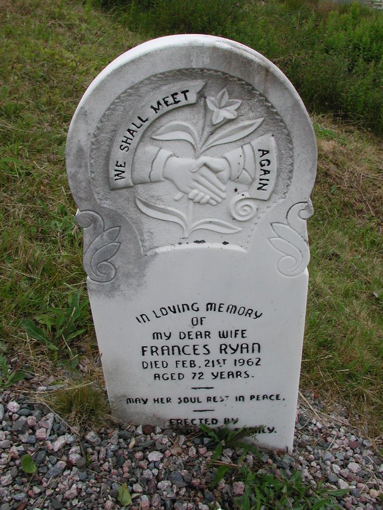 RYAN, Frances (1962) SJP01-7450