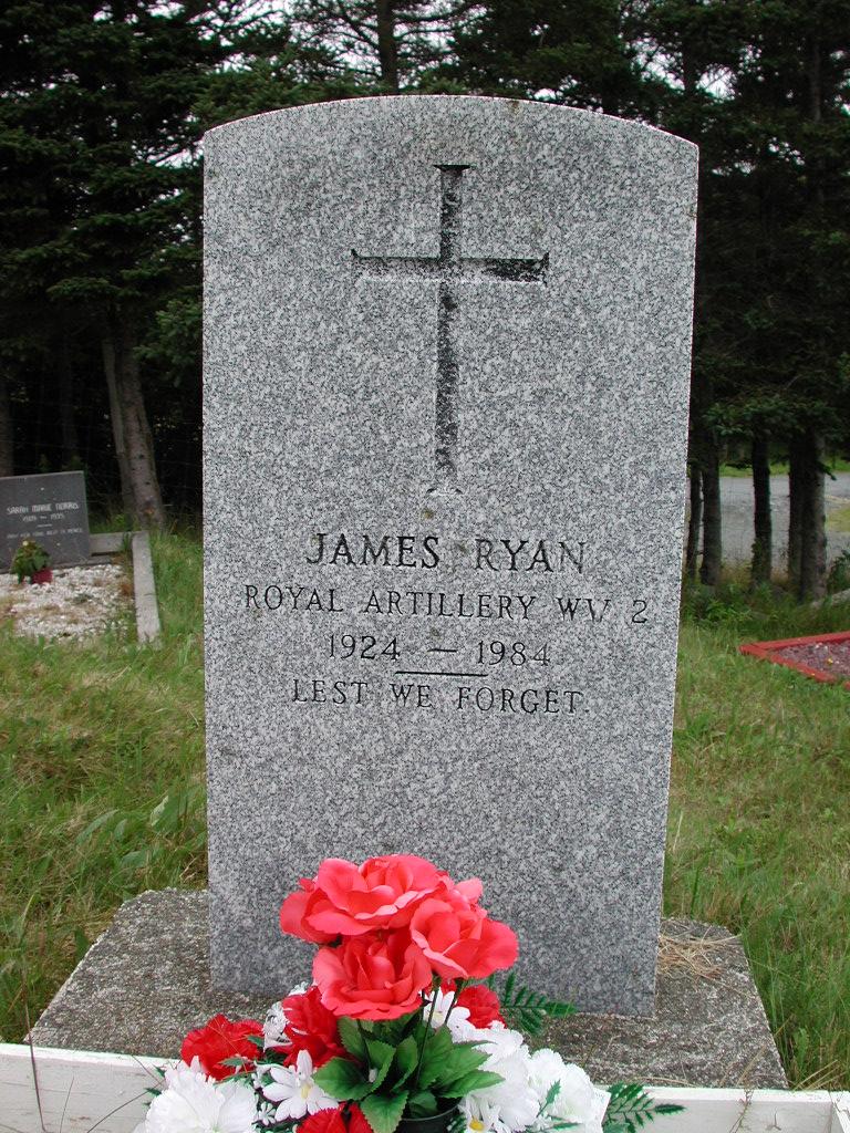 RYAN, James (1984) SJP01-1761