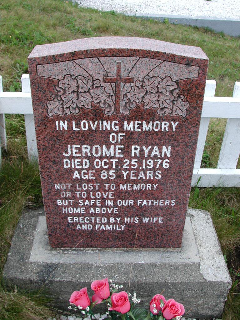 RYAN, Jerome (1976) SJP01-7403
