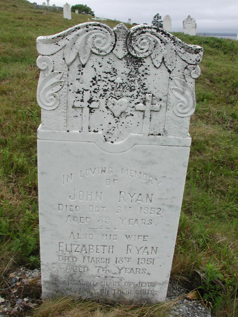 RYAN, John (1952) & Elizabeth (1951) SJP01-7601