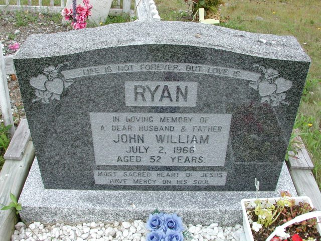 RYAN, John William (1966) ODN02-7787
