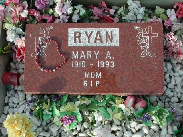 RYAN, Mary A (1993) STM03-3719
