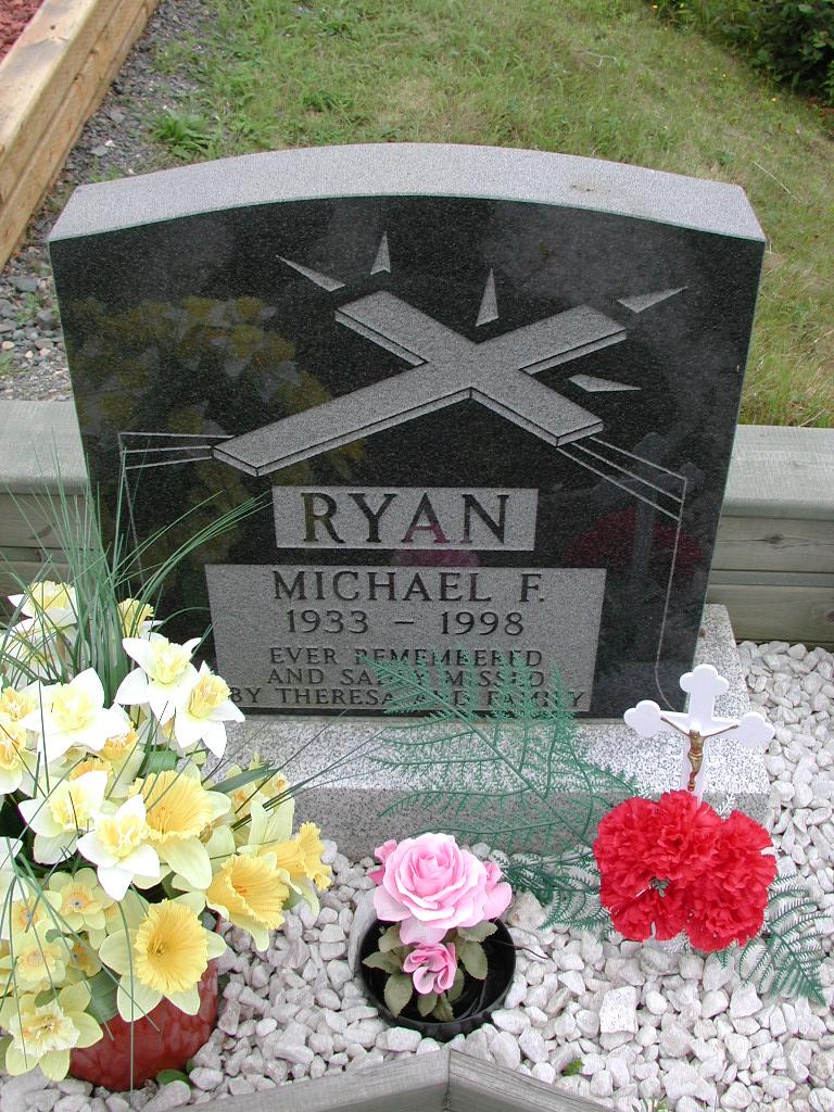 RYAN, Michael F (1998) SJP01-7383