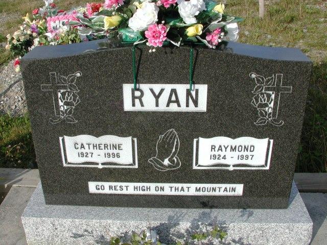 RYAN, Raymond (1997) & Catherine (1996) STM03-9397