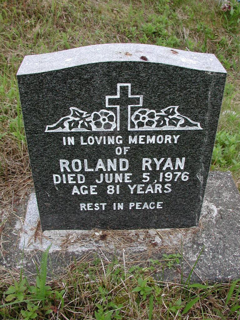 RYAN, Roland (1976) SJP01-7489