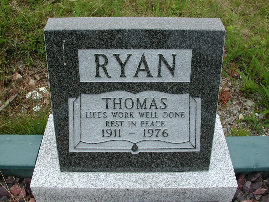 RYAN, Thomas (1976) SJP01-7602