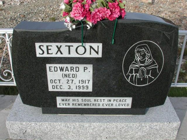 SEXTON, Edward P Ned (1999) STM03-9470