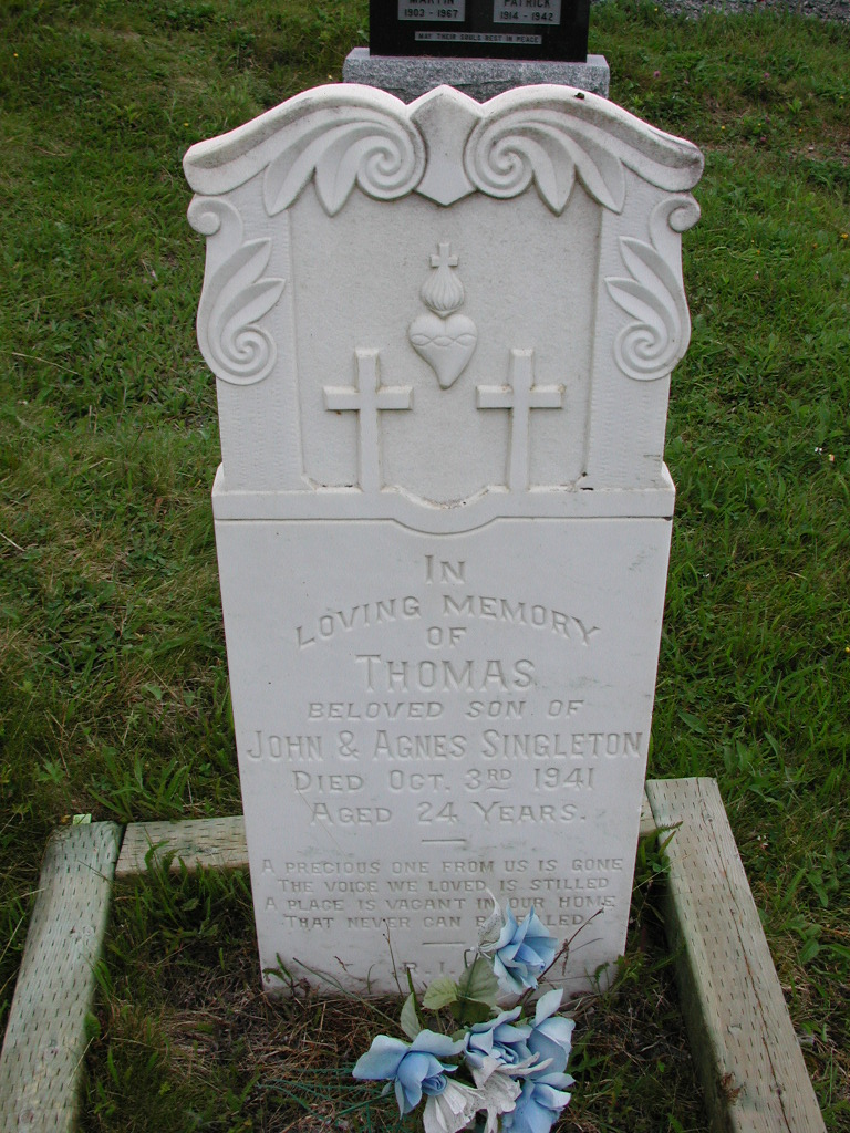 SINGLETON, Thomas (1941) SJP01-7445