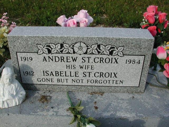 ST CROIX, Andrew (1984) & Isabelle STM03-9462