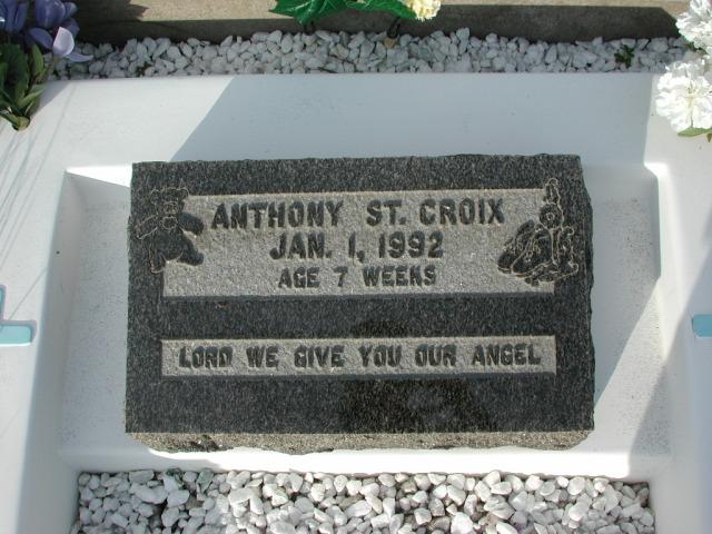 ST CROIX, Anthony (1992) STM03-3680