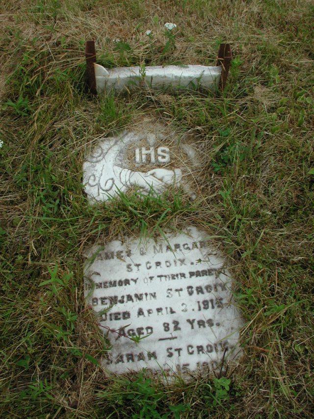 ST CROIX, Benjamin (1915) & Sarah (1904) STM01-2300