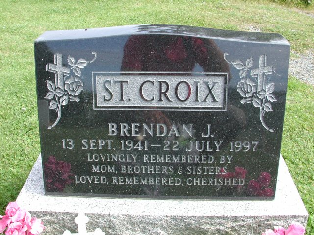 ST CROIX, Brendan J (1997) STM01-8190