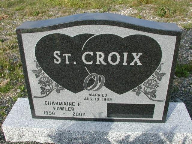 ST CROIX, Charmaine F Fowler (2002) STM03-9403