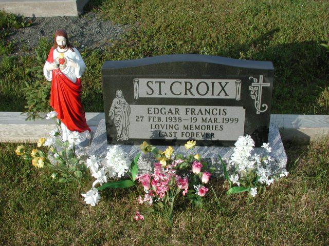 ST CROIX, Edgar Francis (1999) STM03-3679
