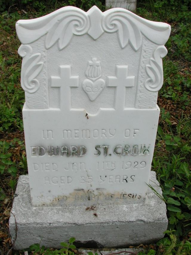 ST CROIX, Edward (1929) STM01-8121