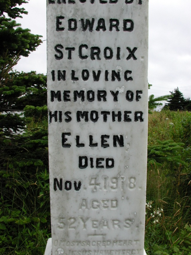 ST CROIX, Ellen (1918) STM01-8128