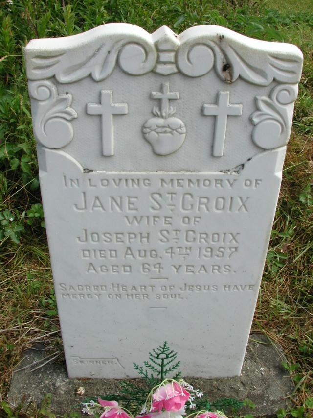 ST CROIX, Jane (1957) STM01-8162