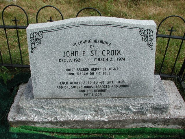 ST CROIX, John F (1974) STM01-2453
